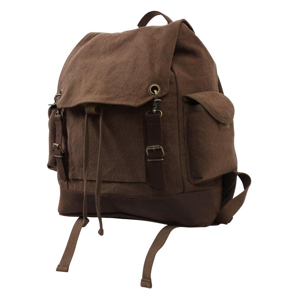 rothco 8709 brown vintage expedition rucksack. Black Bedroom Furniture Sets. Home Design Ideas