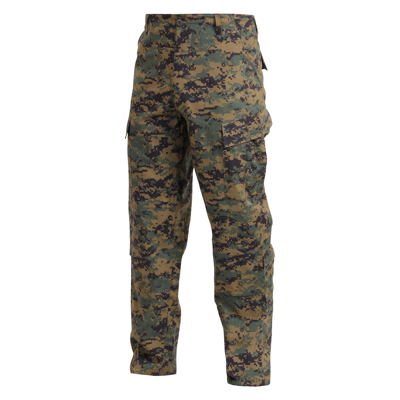 Rothco 174 5217 Woodland Digital Camo Xs Army Combat