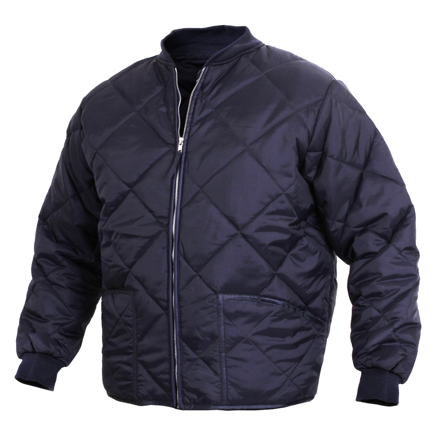 Rothco 174 Diamond Nylon Quilted Flight Jacket
