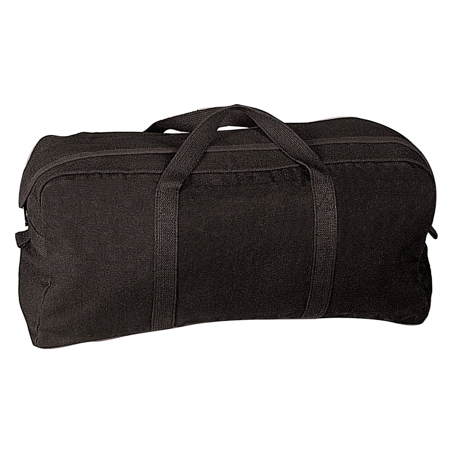 Rothco® 8183 - Black Canvas Tanker Style Tool Bag