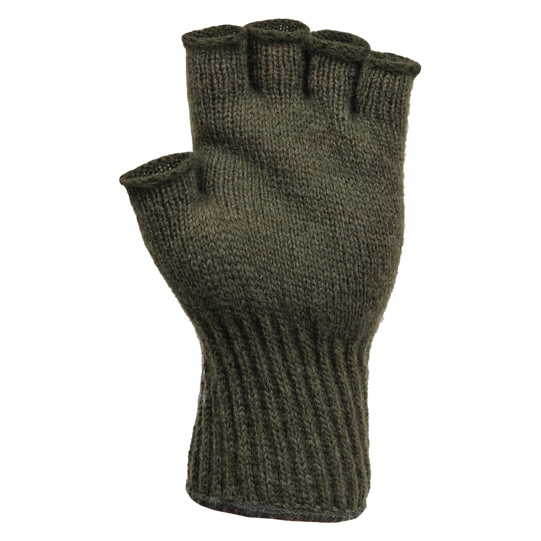 Rothco 8410 olive drab fingerless wool gloves for 8410 3