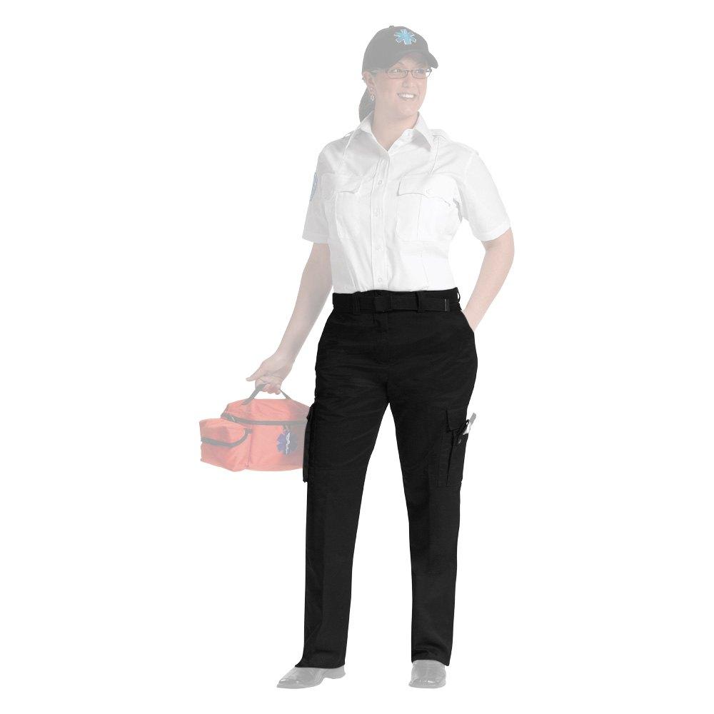 Innovative Rothco 56236  Black Women39s EMT Pants 6 Size