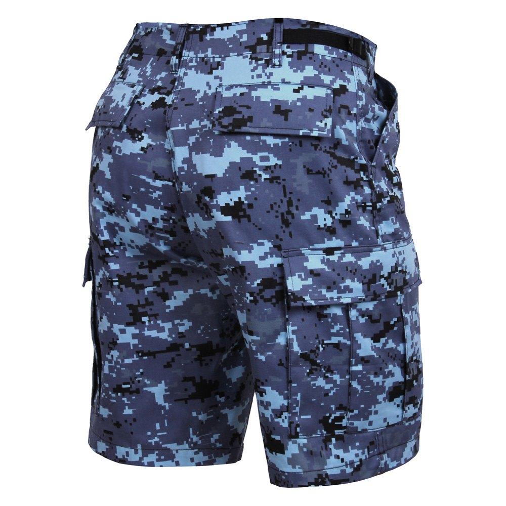 Digital blue bdu pants