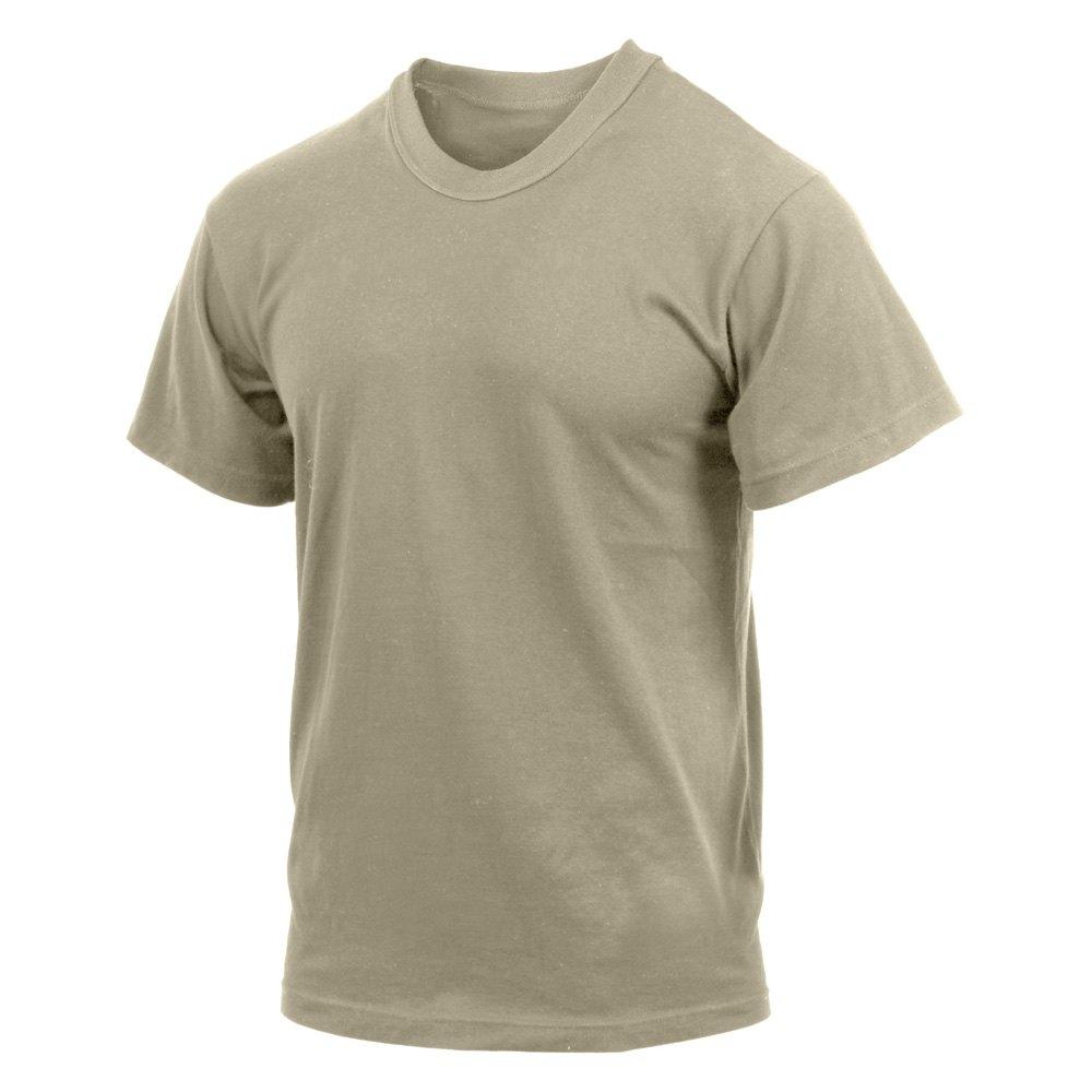 rothco 9581 desert sand moisture wicking t shirts xxl. Black Bedroom Furniture Sets. Home Design Ideas