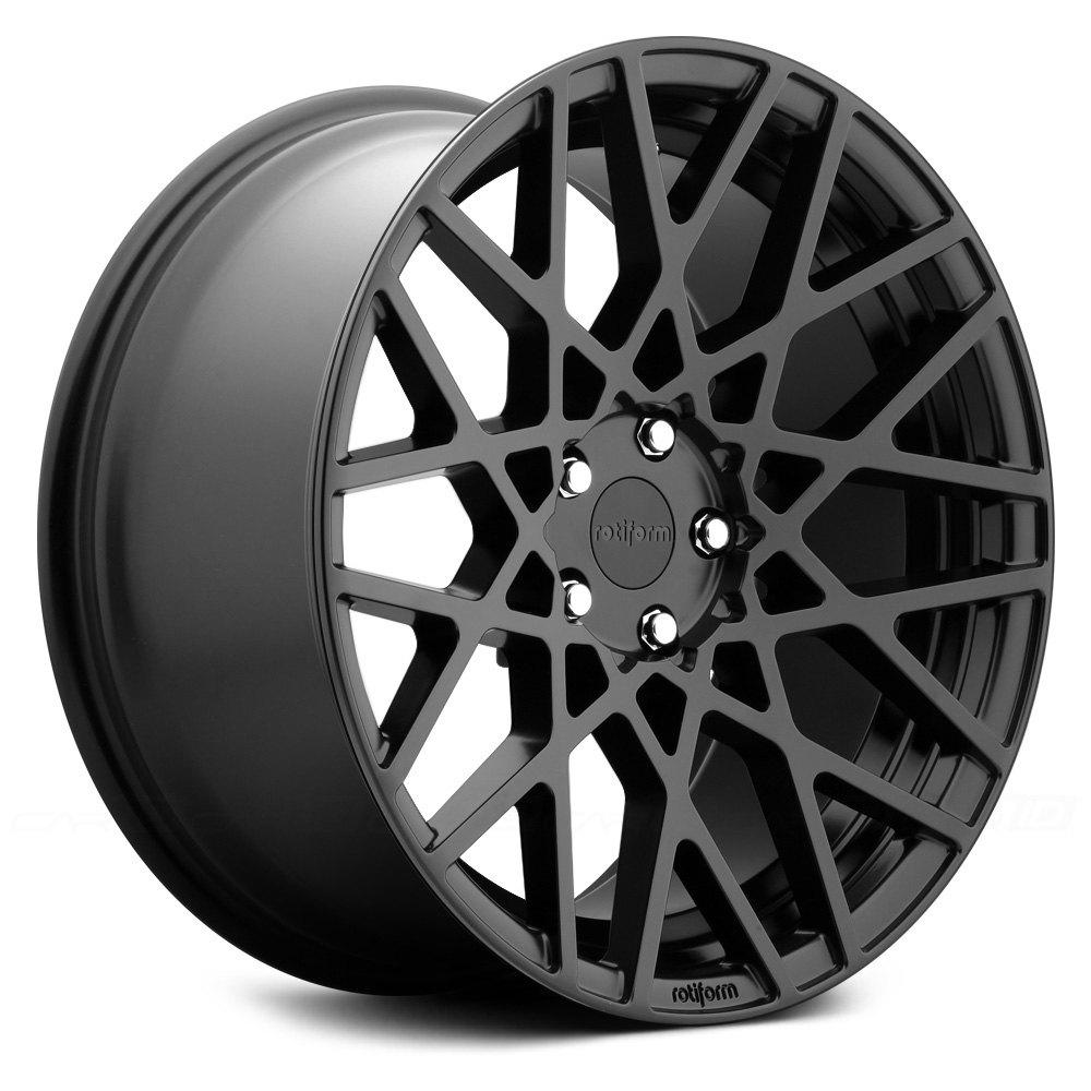 ROTIFORM® BLQ Wheels - Satin Black Rims