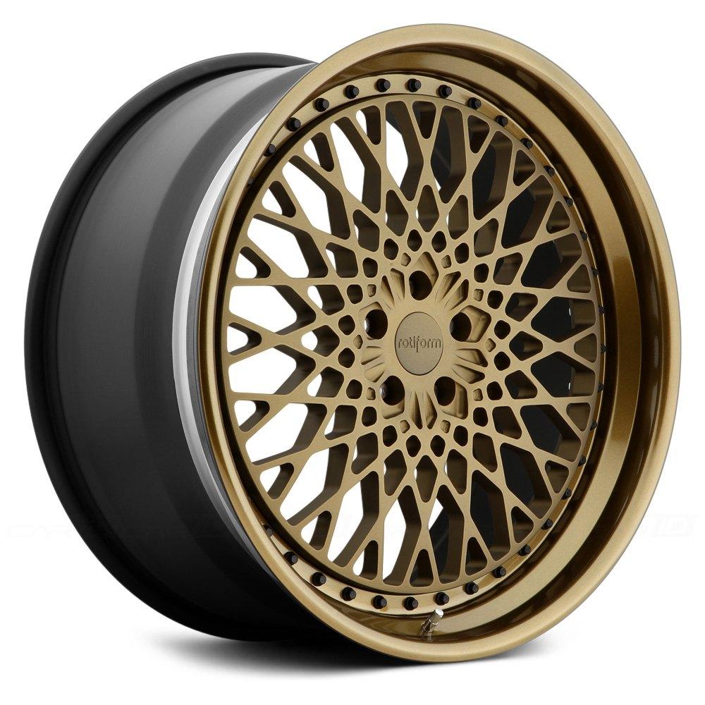 ROTIFORM® LHR 3PC Wheels - Custom Painted Rims
