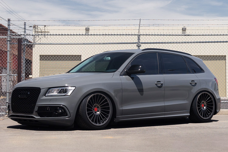 Audi Q5 With Black Rims >> ROTIFORM® IND-T Wheels - Satin Black Rims
