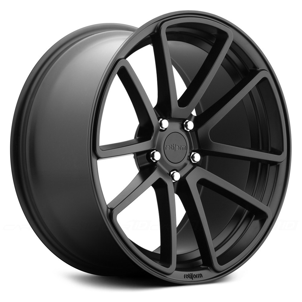 Rotiform 174 Spf Wheels Satin Black Rims