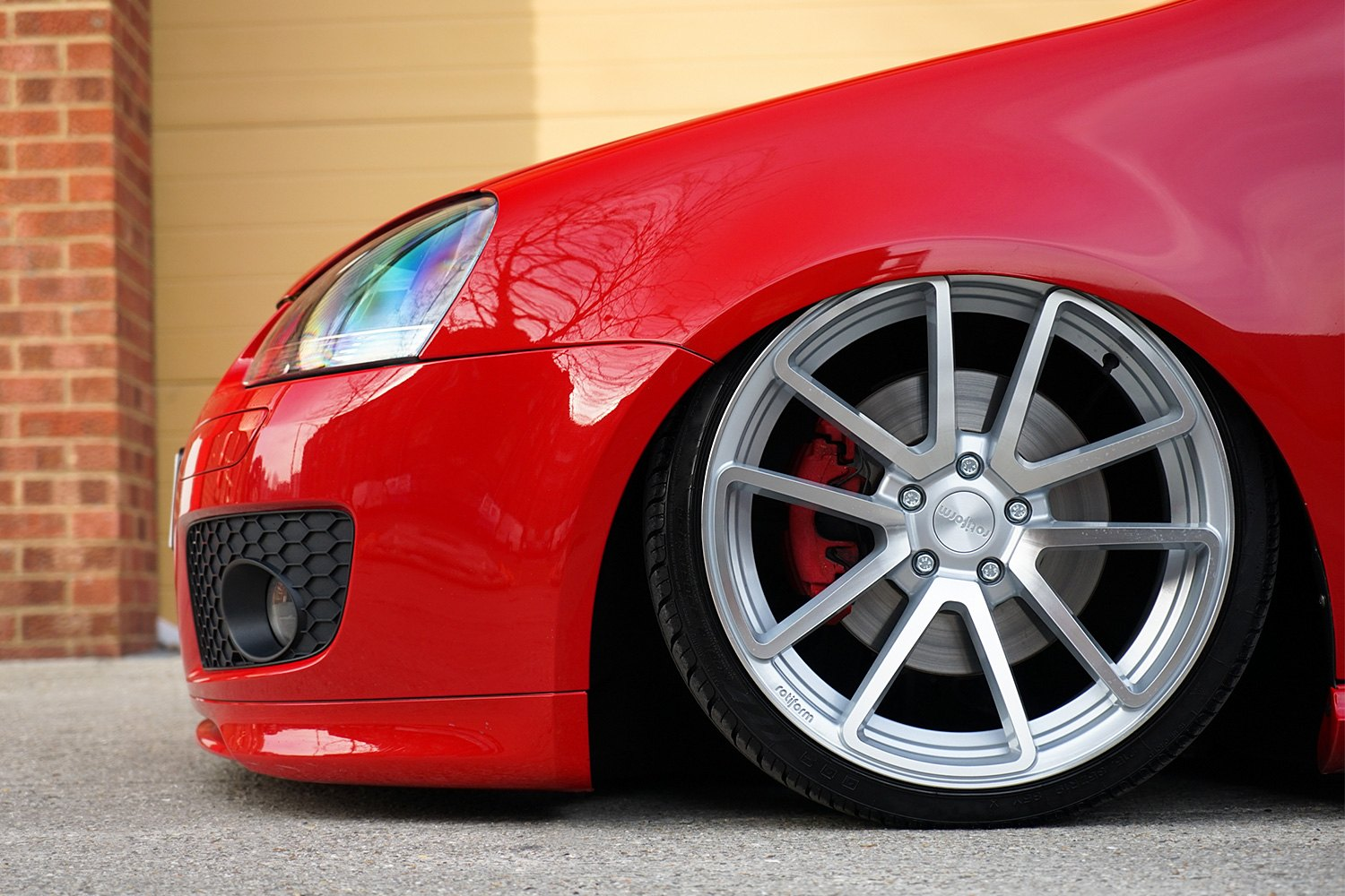 ROTIFORM® SPF Wheels - Silver with Machined Face Rims - CARiD.COM