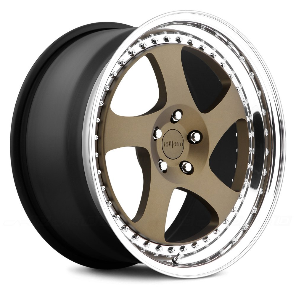 ROTIFORM® TMB 3PC Wheels - Any Single Generic Color with Polished ...