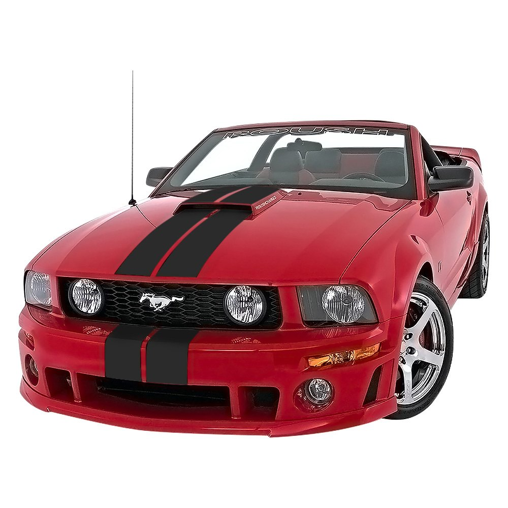 roush performance ford mustang 2005 2009 stripe kit. Black Bedroom Furniture Sets. Home Design Ideas