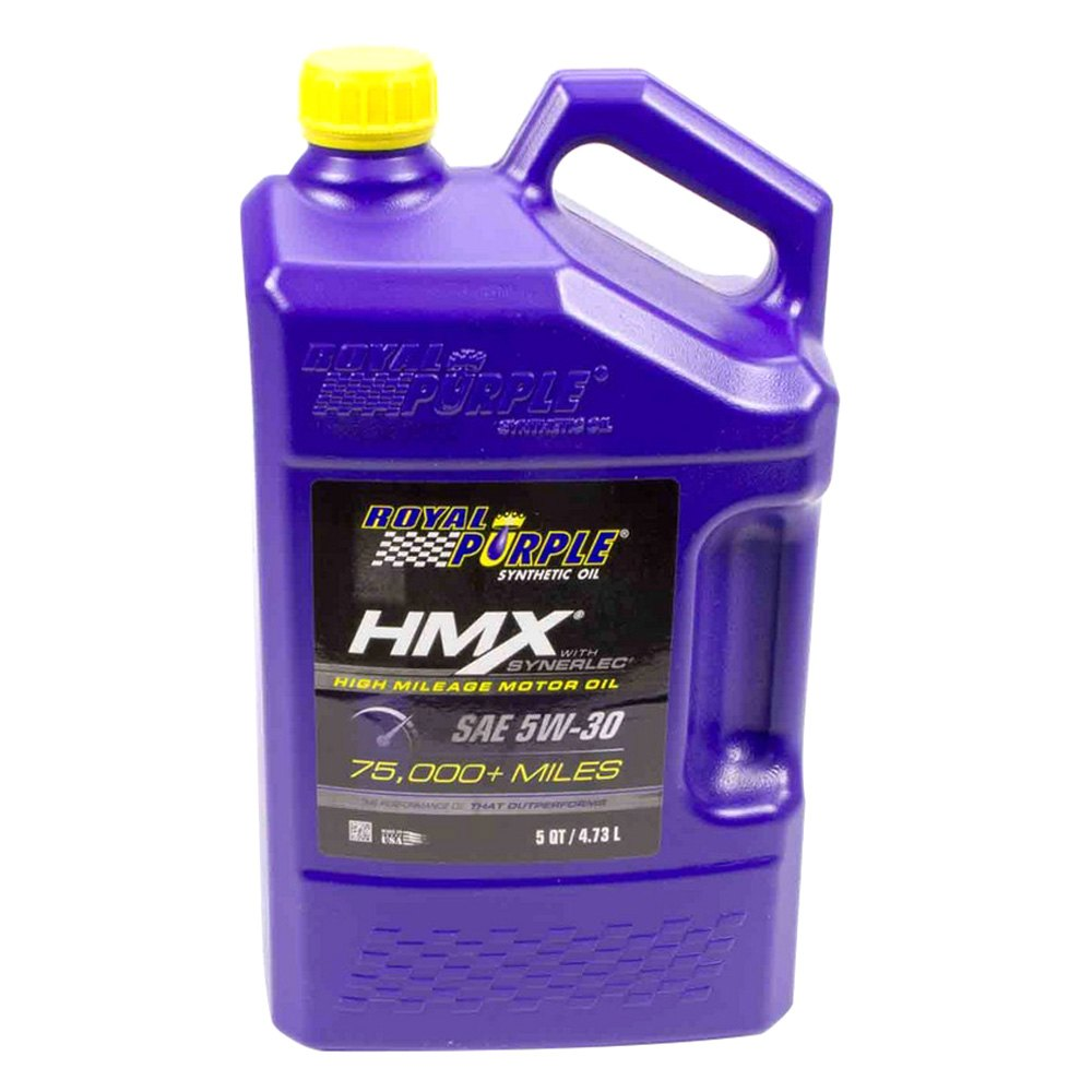 Royal Purple Hmx High Mileage Synthetic Motor Oil