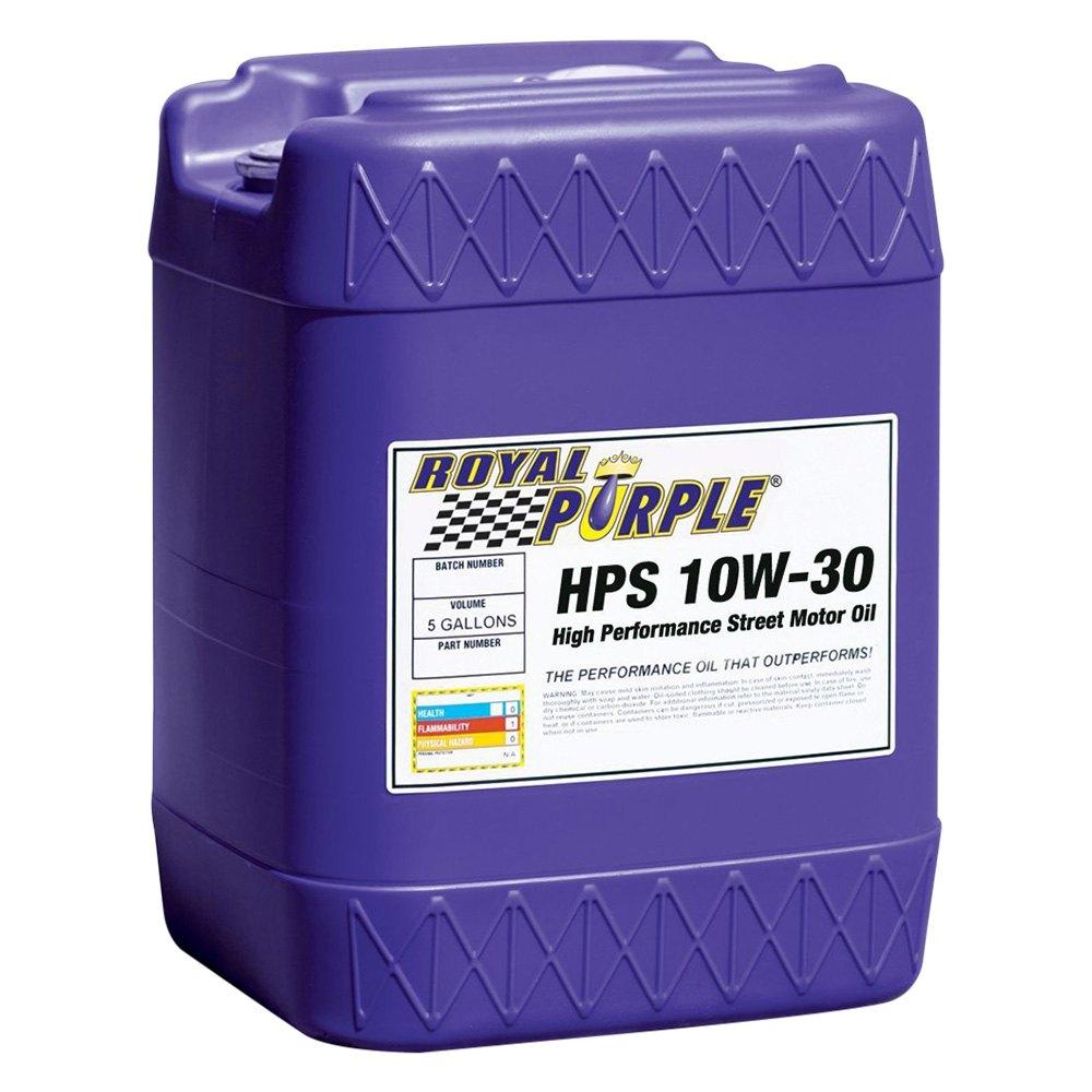 Royal Purple 35130 Hps Sae 10w 30 High Performance