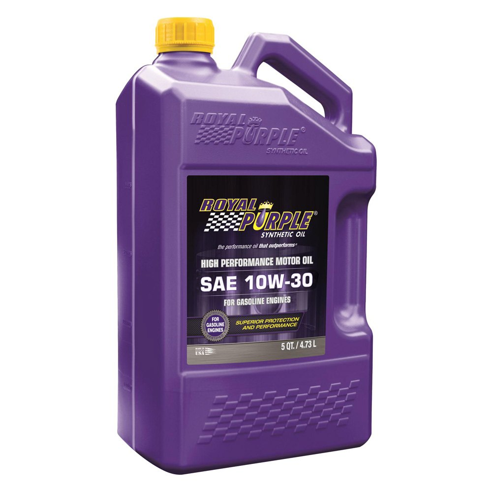 Royal purple 53130 api licensed sae 10w 30 multi grade for Top 1 motor oil review