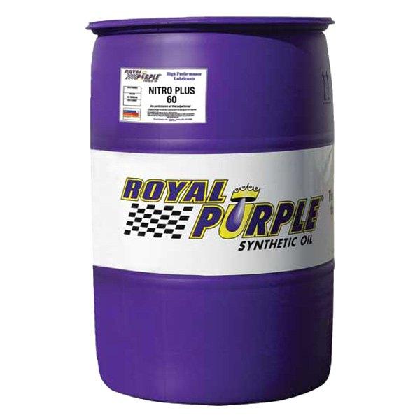 Royal purple 55960 nitro plus sae 60w straight grade for 55 gallon drum motor oil