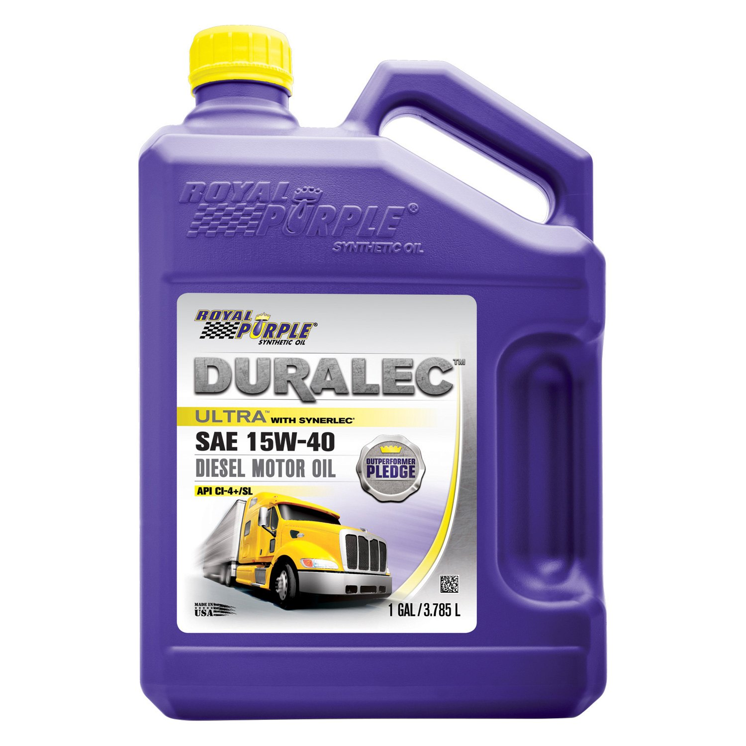 Royal purple 83561 duralec ultra sae 15w 40 high for Gallon of motor oil