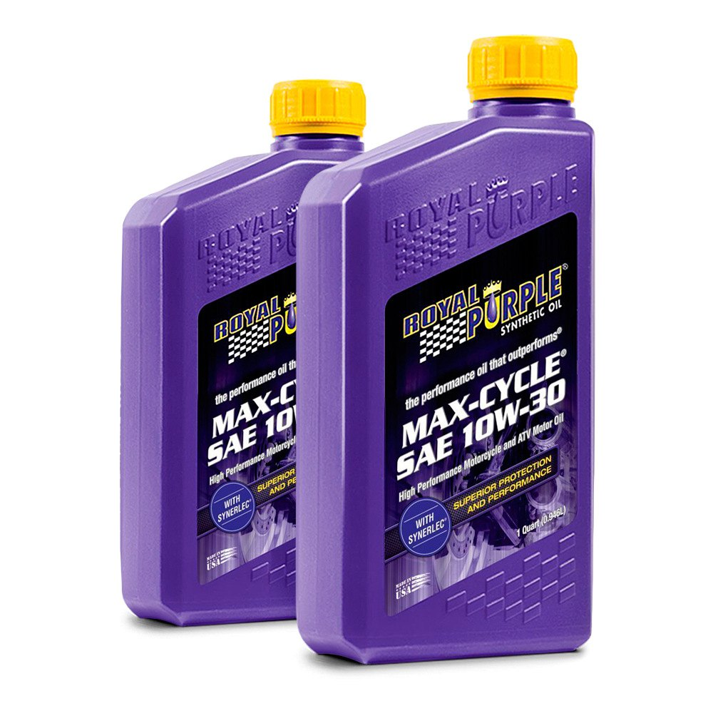 Royal Purple Max Cycle Motorcycle Engine Oil