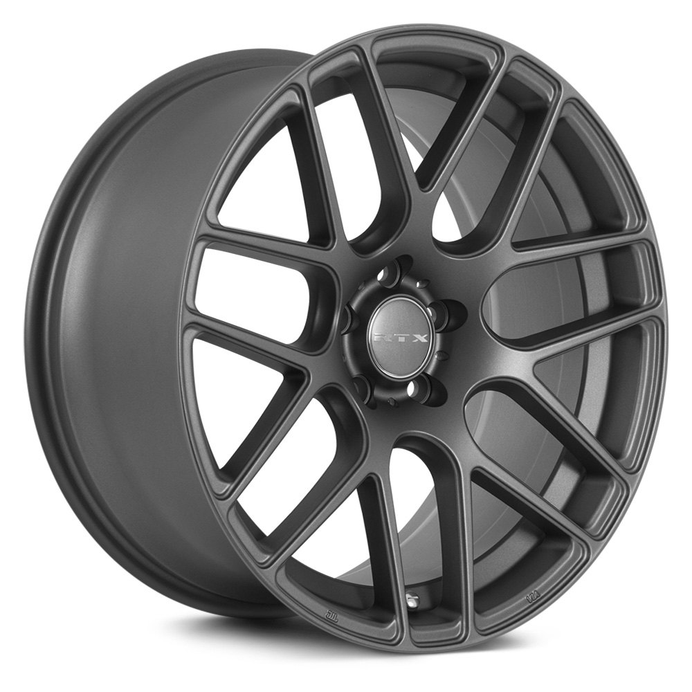 Rtx 174 Envy Wheels Matte Gunmetal Rims