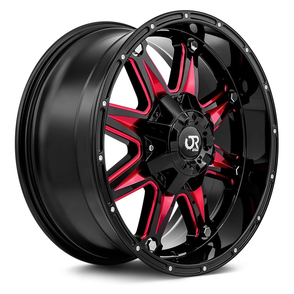 rtx spine wheels gloss black with red accents. Black Bedroom Furniture Sets. Home Design Ideas