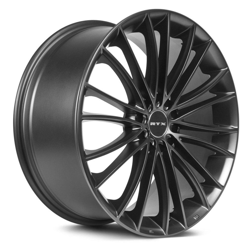 Rtx 174 Turbine Wheels Matte Black Rims