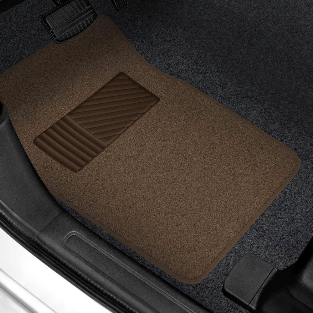 Rubber Queen 174 Premium Carpeted Floor Mats With Heel Pad