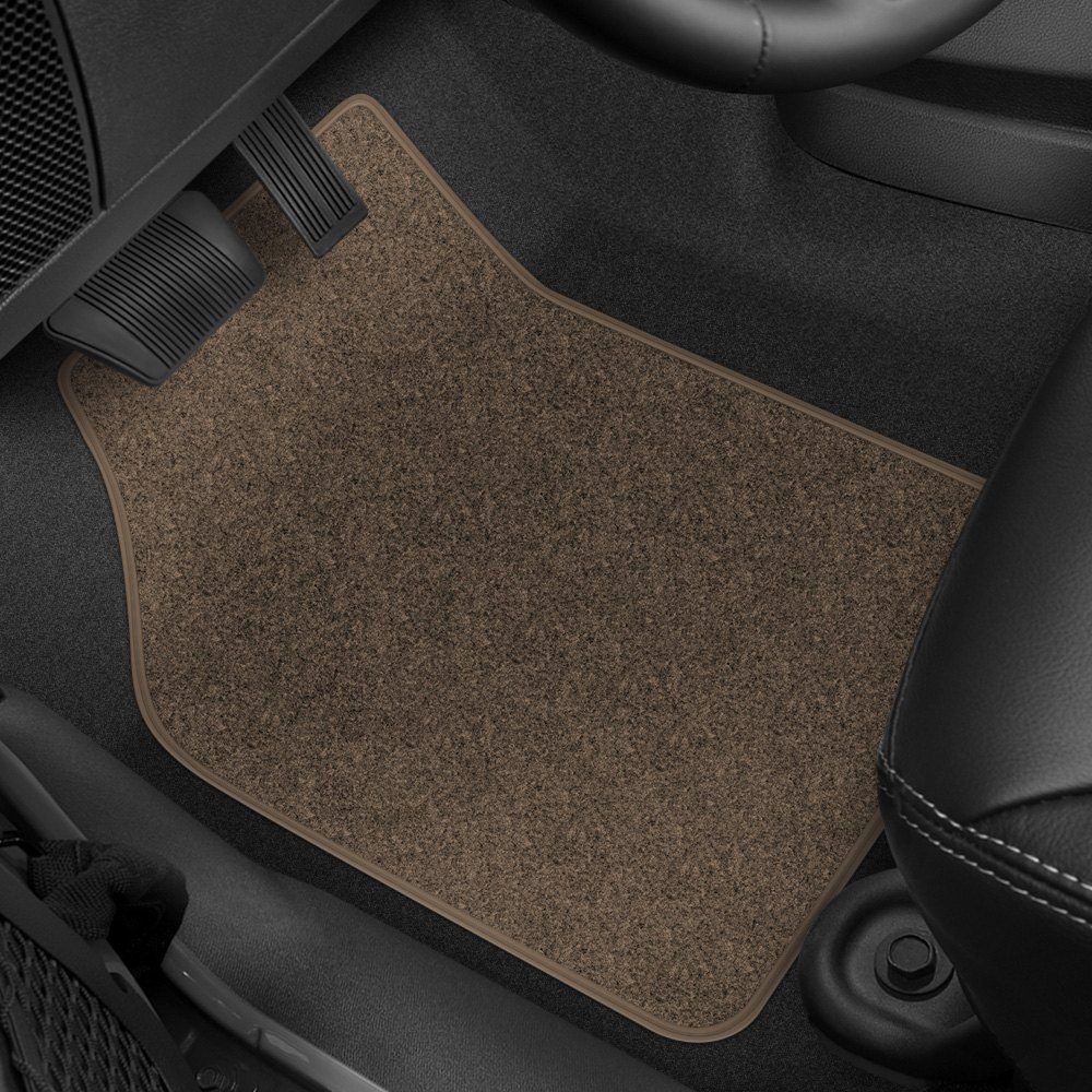 What Tires Fit My Car >> Rubber Queen® 70533 - 1st & 2nd Row Beige Carpeted Floor ...