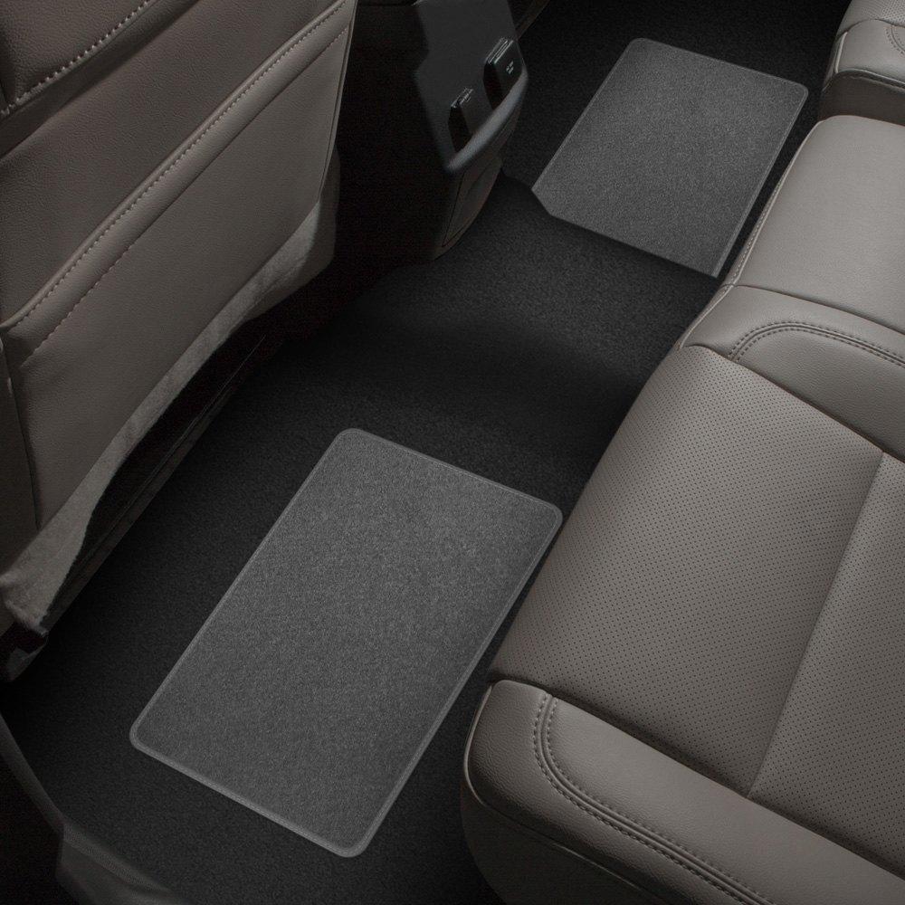 Rubber queen floor mats - Rubber Queen 70554 1st Amp 2nd Row Gray Premium Carpet Floor Mats Set Rubber Queen Catalog