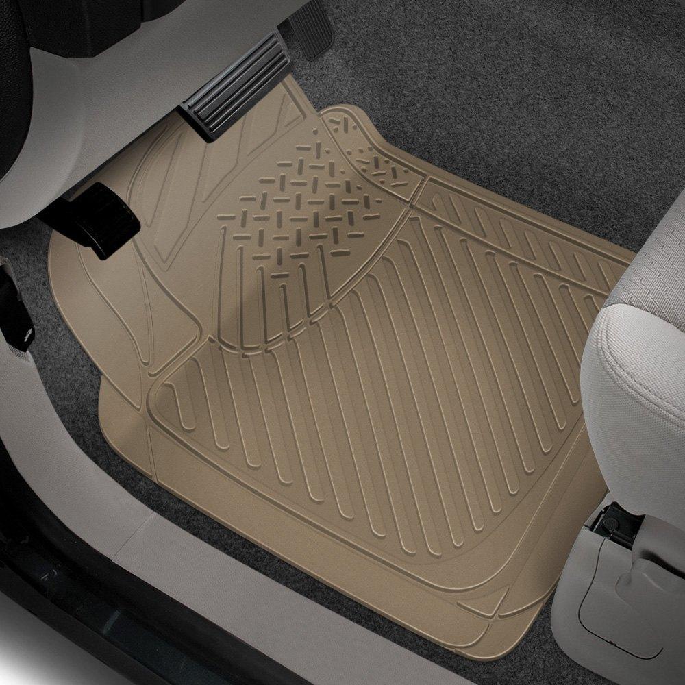Rubber queen 70903 truck 1st row beige floor mats for 1 piece floor mats trucks