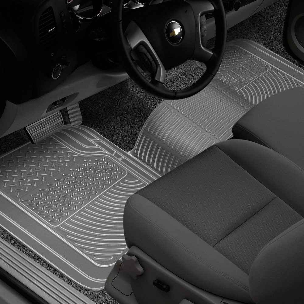 Truck Floor Mats >> Rubber Queen 69006 Truck 1st Row Over The Hump Clear Floor Mat
