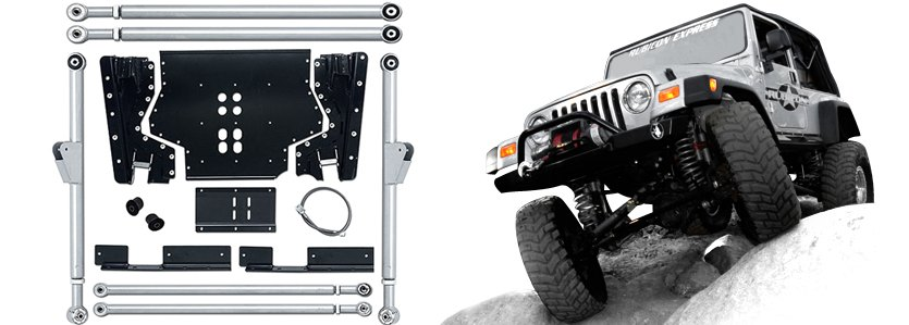 Rubicon Express® -  Extreme-Duty Long Arm Upgrade