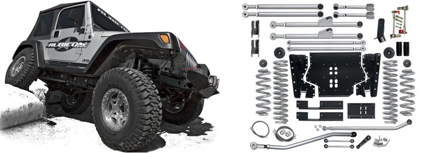 Rubicon Express® -  Extreme-Duty Long Arm