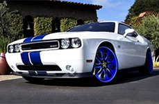 RUCCI® - FORZA Standard Forging Custom Painted on Dodge Challenger