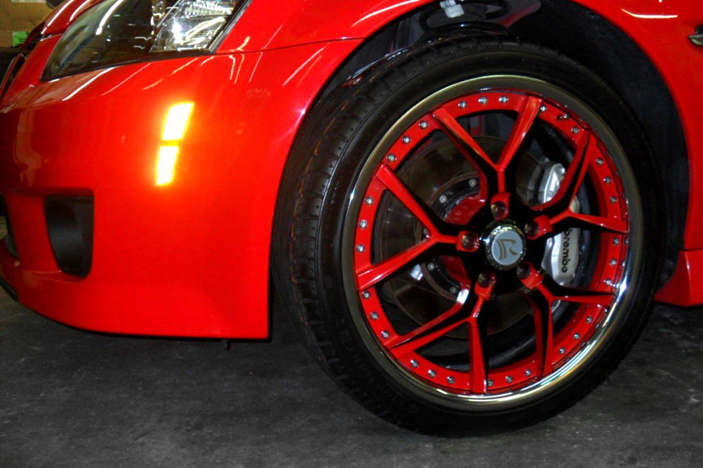 rucci da corsa 2pc wheels custom painted rims. Black Bedroom Furniture Sets. Home Design Ideas
