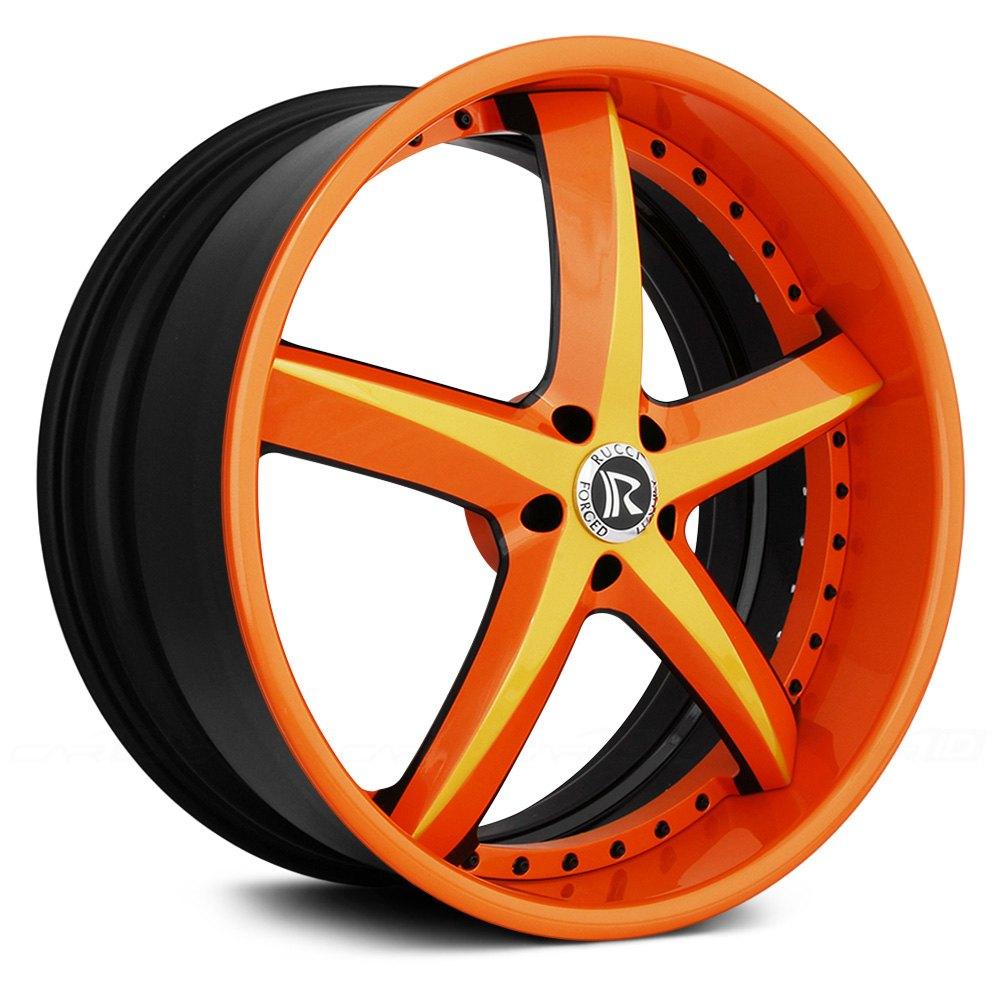 Rucci 174 Swoops 3pc Wheels Custom Finish Rims