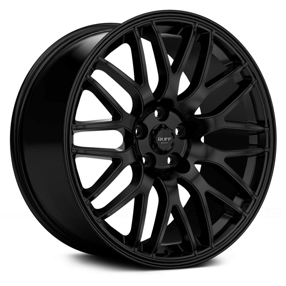 Ruff Racing 174 R360 Wheels Satin Black Rims