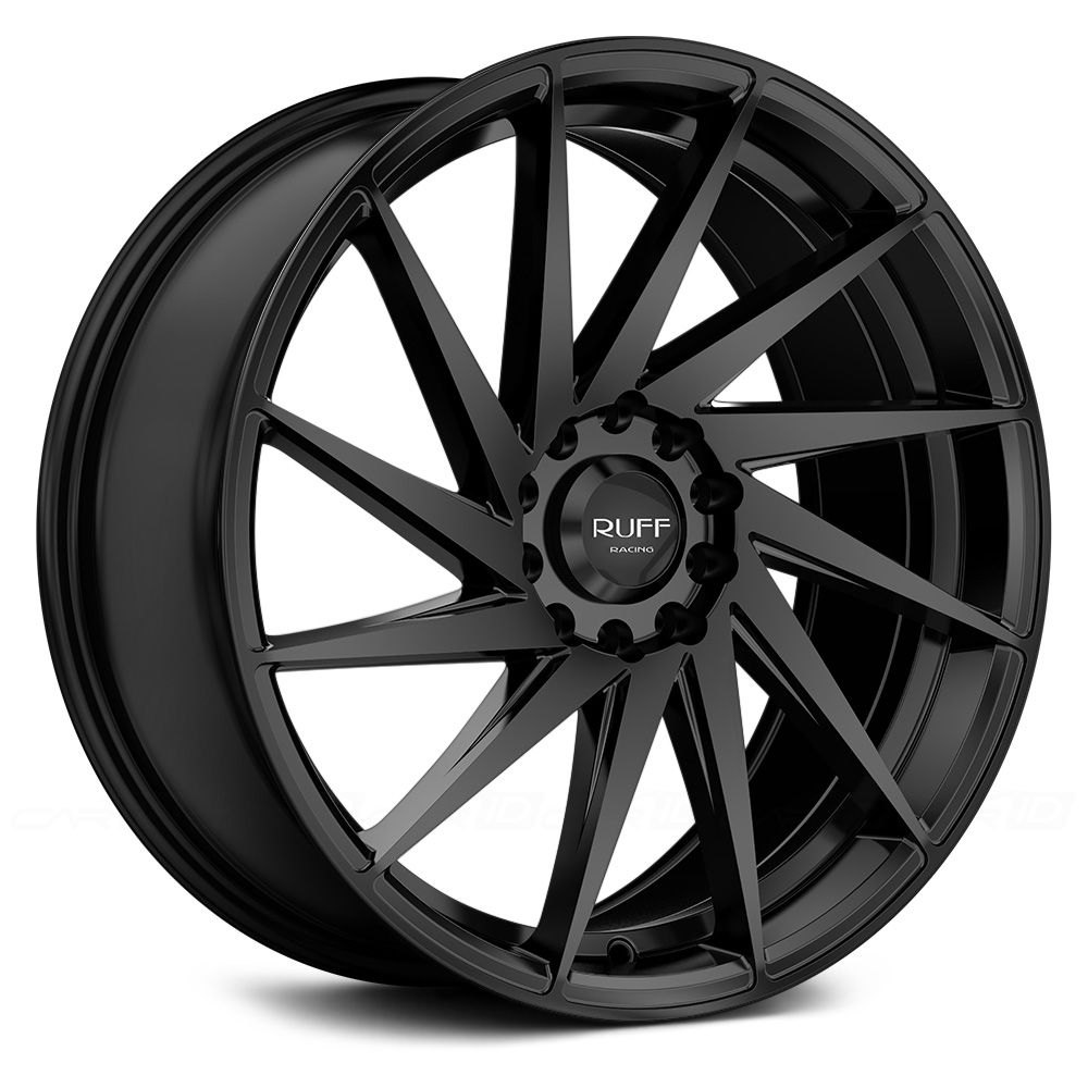 Ruff Racing 174 R363 Wheels Satin Black Rims