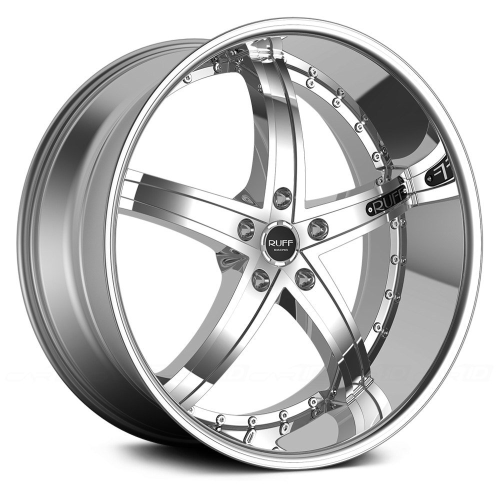 Ruff Racing 174 R953 Wheels Chrome Rims