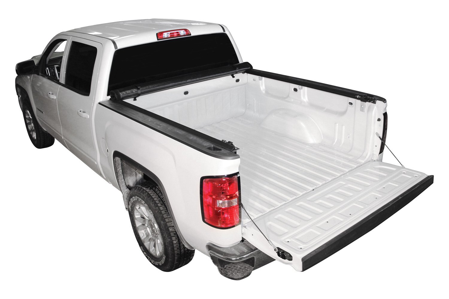 rugged liner chevy colorado 2016 premium roll up tonneau cover. Black Bedroom Furniture Sets. Home Design Ideas