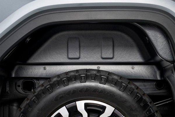 Fender Liner Material : Chevy silverado rear driver passenger side