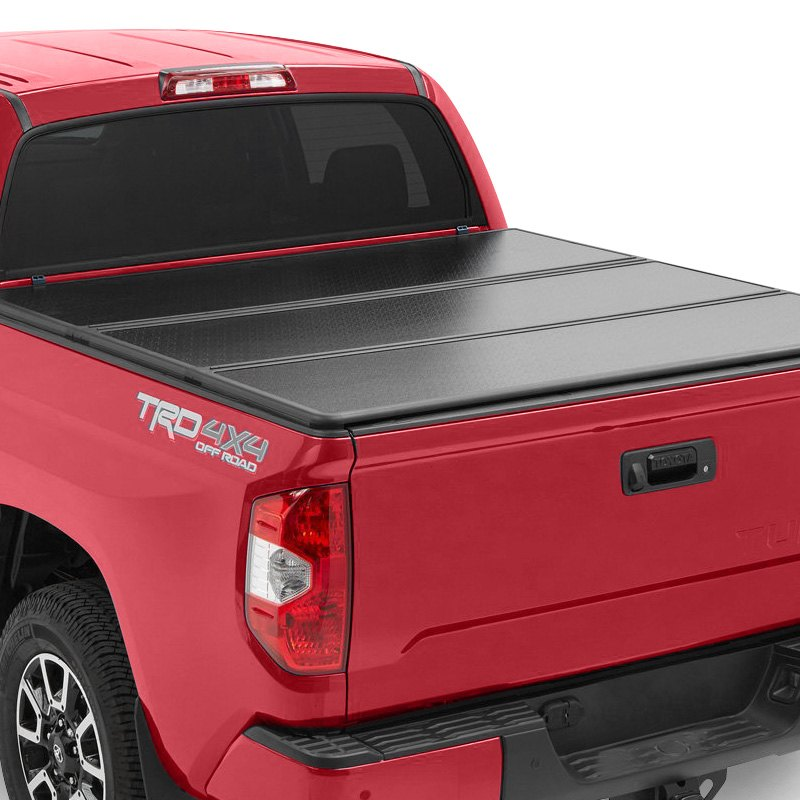 rugged liner® hc-c6514 - premium hard folding tonneau cover