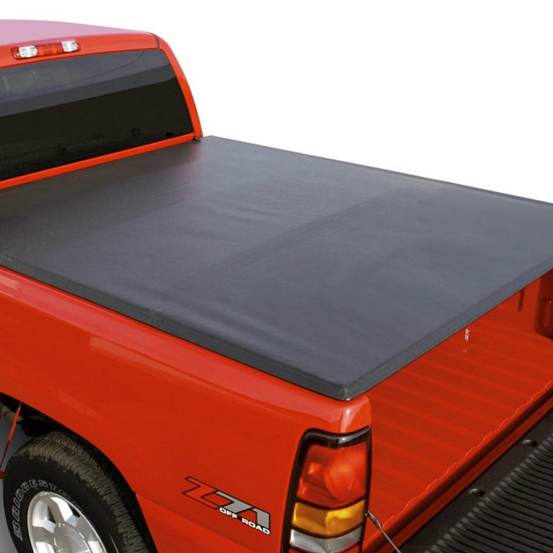 rugged liner® fcnt5504 - premium vinyl folding tonneau cover