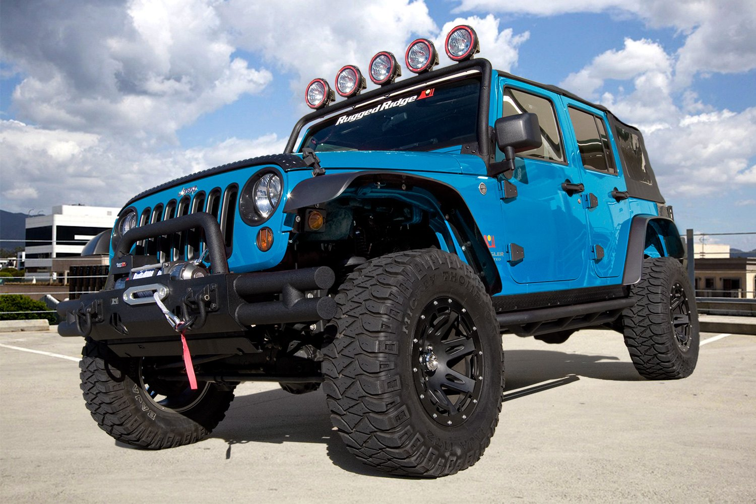 Wheel And Tire Packages For Jeeps