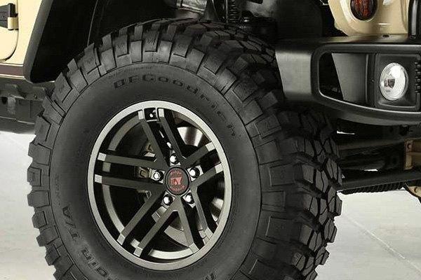 Custom Jeep Rubicon >> RUGGED RIDGE® JESSE SPADE Wheels - Gunmetal Rims