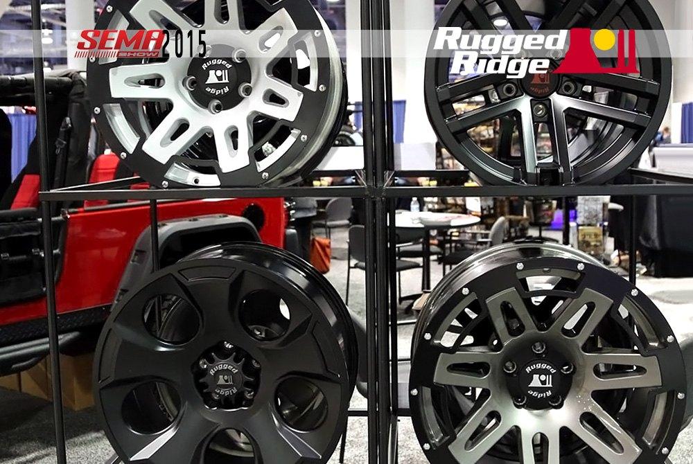 "rugged ridge® 15301.60 - 17"" 7 spokes xhd satin black alloy wheel"