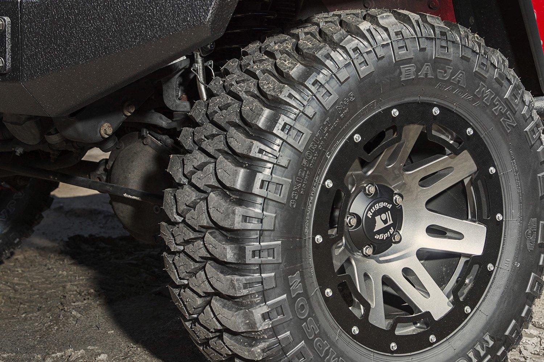 Ridge Xhd Gunmetal On Jeep Wranglerrugged Wrangler
