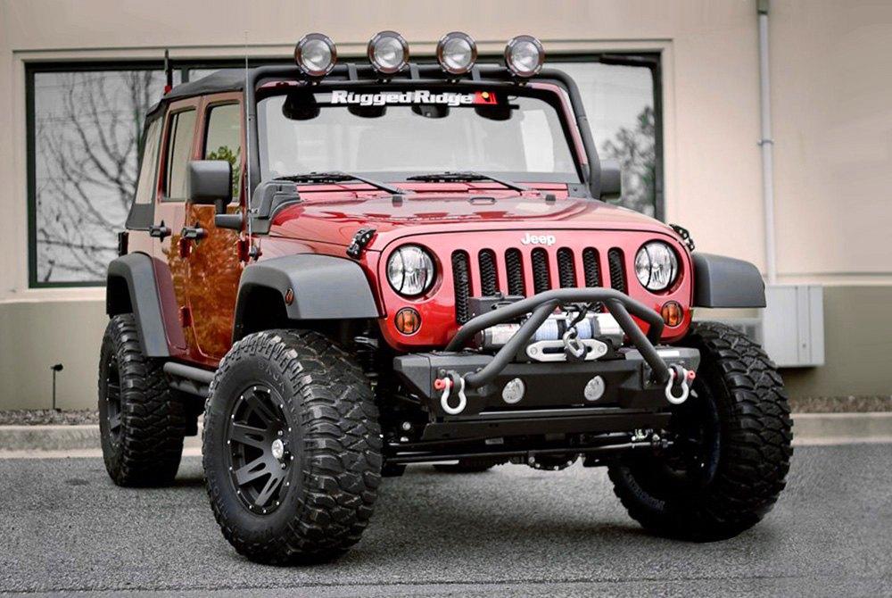 Blackrugged Ridge Xhd Satin Black On Jeep