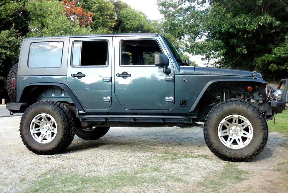 Wranglerrugged Ridge Xhd Silver On Jeep