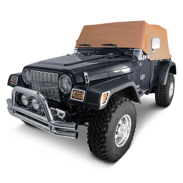 rugged ridge jeep wrangler 1997 2006 water resistant cab cover. Black Bedroom Furniture Sets. Home Design Ideas