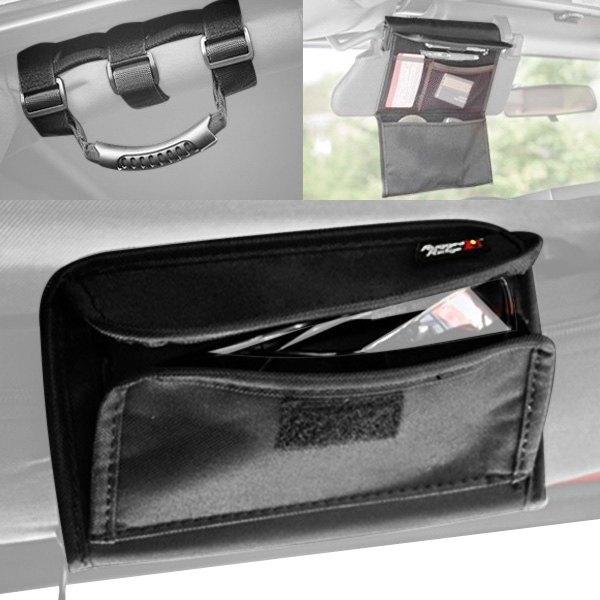 rugged ridge jeep wrangler 2007 2009 interior storage accessories. Black Bedroom Furniture Sets. Home Design Ideas