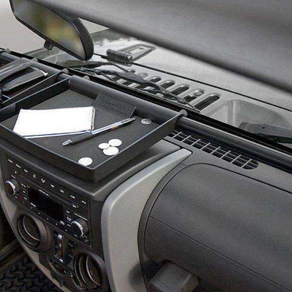 Rugged ridge jeep wrangler 2013 interior storage for Interior jeep accessories